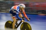 David Daniell. Track Cycling World Cup. Manchester Velodrome. 01/11/2008. Nikon D200 - 1/90 sec @ f5.3, ISO 1600 (0945_0018.jpg)