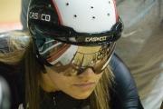 Natasha Hansen. Track Cycling World Cup. Manchester Velodrome. 02/11/2008. Nikon D200 - 1/40 sec @ f5.6, ISO 1600 (0946_0045.jpg)