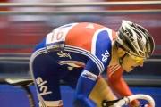 Geraint Thomas. Track Cycling World Cup. Menchester Velodrome. 02/11/2008. Nikon D200 - 1/125 sec @ f5.6, ISO 1600 (0946_0153.jpg)