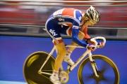 Geraint Thomas. Track Cycling World Cup. Manchester Velodrome. 02/11/2008. Nikon D200 - 1/80 sec @ f5.3, ISO 1600 (0946_0159.jpg)