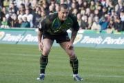 Carlos Spencer. Northampton Saints v Rotherham Titans. Franklin's Gardens, Northampton. 01/03/2008. Nikon D200 - 1/250 sec @ f5.3, ISO 500 (0907_0399.jpg)