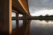 M5 Bridge at Sunset