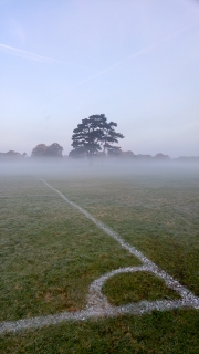 Football pitch markings