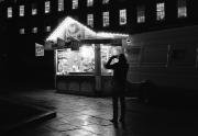 Doughnut Van at night, College Green, Bristol