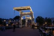 Lifting Bridge at Night