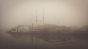 SS Great Britain in the fog