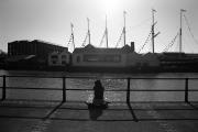 SS Great Britain & shadows