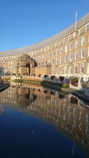 City Hall reflection