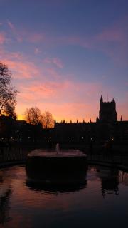 Dawn at City Hall