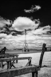 Pylon and sky (IR)