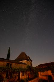 Milky Way over the gite
