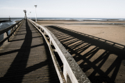 Jetty & Shadow, Courseulles
