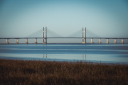 View across to Second Severn Crossing