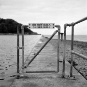 Do Not Walk On Sea Wall