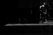 Man in Deep Shadow