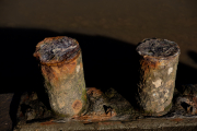 Rusted Mooring Posts