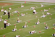 Browns stretching