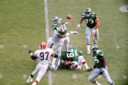 Randall Cunningham getting the ball away