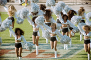 LA Raiders cheerleaders