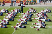 Bills stretching