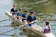 Me in the Coxed Four