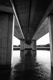 Under the M5 on the River Exe