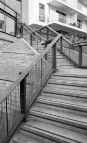 Steps at Millennium Promenade