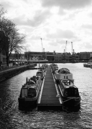 Barges on the Floating Harbour