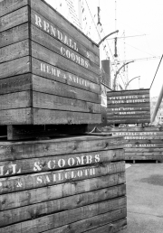 Boxes at the SS Great Britain