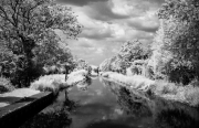 Kennet and Avon Canal in infra-red
