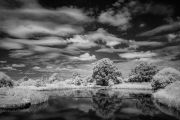 Holding pool in infra-red
