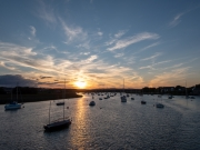 Sunset on the River Exe