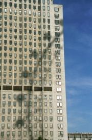 London Eye Shadow on BP Building