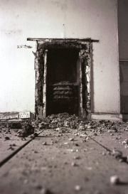 Fireplace in a Derelict House