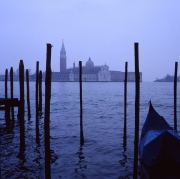Gondola and St Giorgio