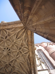 Entrance to Albi Cathedral