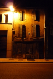 French House at Night