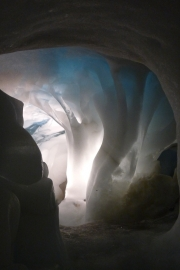Carved Ice Cave