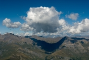 Clouds Over The Alps