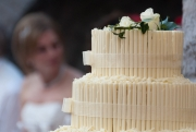 Wedding Cake and Bride