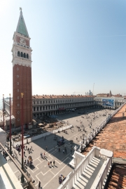 St Mark's Square from Torre dell'Orologio
