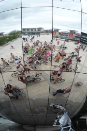 Naked Cyclists, Reflected