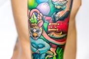 Mickey, Tatto